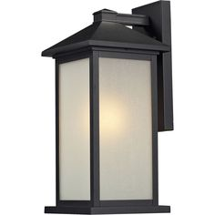 Z-Lite Vienna Tall 1 Light Wall Sconce with White Seedy Glass Black Outdoor Lighting Wall Sconces Outdoor Wall Sconce Outdoor Wall Mounted Lighting, Outdoor Wall Lantern, Outdoor Wall Sconce, Outdoor Walls, Wall Sconce Lighting, Outdoor Lighting, Wall Sconces, Pendant Lighting, Wall Mount Light Fixture