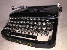 Mechanische Schreibmaschine Erika 8, Seidel & Naumann 1952
