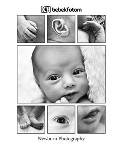 New born baby photography details