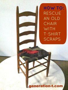 DIY chair finish generation-t.com