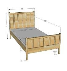 Image result for single bed height dimensions
