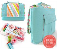 Aurifil Thread Box &Sewing Kit Carry Case- Tutorial