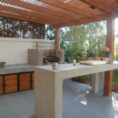"""Visit our site for even more information on """"outdoor kitchen designs ideas"""". It … Visit our site for even more information on """"outdoor kitchen designs ideas"""". It is actually an exceptional spot to find out more. Outdoor Bbq Kitchen, Outdoor Barbeque, Backyard Kitchen, Outdoor Kitchen Design, Outdoor Dining, Outdoor Rooms, Outdoor Kitchens, Grill Design, Küchen Design"""