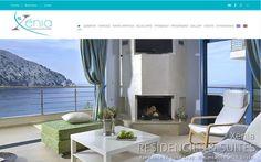 Κατασκευή Ιστοσελίδας Ξενοδοχείου και προώθηση SEO, συμβατή με κινητά & tablet για εύκολη ανάγνωση & πλοήγηση και σύνδεση της με το σύστημα κρατήσεων.