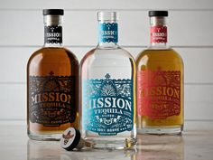 30 beautiful bottle designs Mission Tequila by Jose Canales