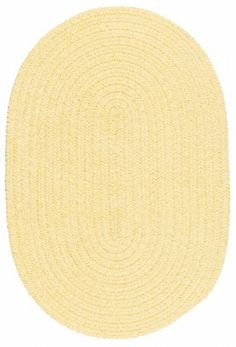 $5 Off when you share! Colonial Mills SM Outdoor Spring Meadow Braided Dandelion Rug | Solid & Striped Rugs #RugsUSA