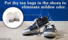 Mildew can cause the shoes to have an unpleasant musty odor. This HomeQuicks article presents some useful tips to get rid of mildew smell from shoes.