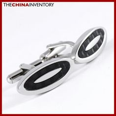 WHOLESALE STAINLESS STEEL CARBON FIBER CUFFLINKS WC0902