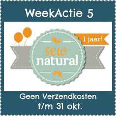 Sew Natural • Biologische Stoffen Naaigaren & NaaiPatronen online