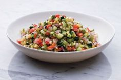 Succotash, a delicious #recipe as part of our perfect #picnic menu from celebrity chef Curtis Stone.