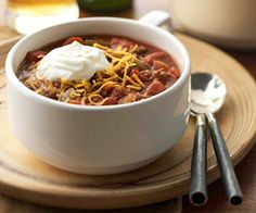 Add cinnamon and other spices and serve this ground beef and bean mixture over spaghetti and you've got Cincinnati chili. Either way, it's fast and hearty.