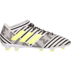 Adidas Men's Nemeziz FG Soccer Cleats (White/Black, Size - Adult Soccer Shoes at Academy Sports Soccer Gear, Soccer Shoes, Soccer Cleats, Adidas Men, Size 12, Appetizers, Sports, Black, Products