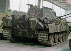This is the panzer V Panther medium tank. The Panther has been labeled as one of the best tanks of WWII. It's has the perfect balance of armor protection, firepower, and mobility. It boasted an extremely accurate 75mm L/70 AT gun. This gun was used of several German designs throughout the war and was very effective. It also had 120mm, or around three inches of front armor will retaining mobility similar to that of the pz. IV