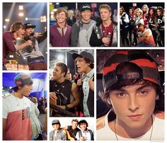Emblem 3 while they were on the xfactor