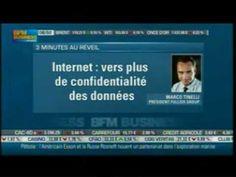 Interview de Marco Tinelli dans « Good Morning Business », la matinale de BFM présentée par Stéphane Soumier. (émission du Mercredi 19 Avril).