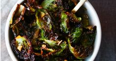 These Crispy, Crunchy Brussel Sprout Chips Will Help Kick Your Tayto Habit Healthy Treats, Healthy Eating, Brussel Sprout Chips, Sprouts, Spinach, Vegetables, Food, Eating Healthy, Healthy Nutrition