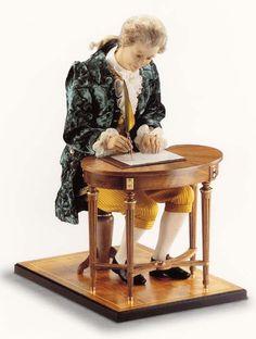 Writing automaton.