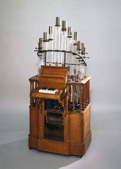 "Pyrophone. Literally meaning ""fire sound,"" a pyrophone is a musical instrument that features a series of pipes like an organ or calliop and creates sound by applying combustion to the pipes through gasoline."