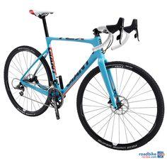 Giant TCX Advanced 1 'cross bike with disc brakes.