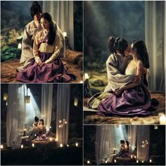 Gu Family Book. This was the most romantic scene.  Beautiful....