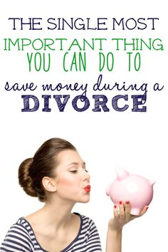 Divorce are expensive, but there is one thing you NEED to do when going through a divorce that will save you a lot of money and heartache.
