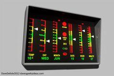 Star Trek: Medical Biometer Clock/Weather Station