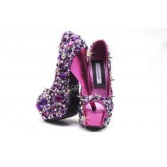 Crystal Boutique Trixie Crystal Heels