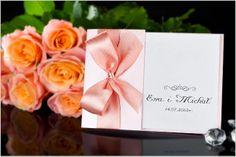 Zaproszenia Ślubne perłowe BOKS