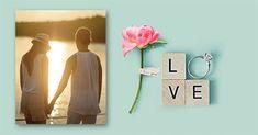 ¿Quieres enviar a tu pareja una tarjeta de amor especial?, personaliza una tarjeta con foto para celebrar el día de San Valentín con una imagen de amor.