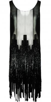 Chanel 1920s Beaded Flapper Dress
