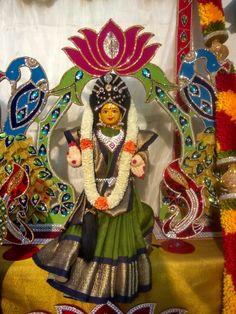 Varamahalakshmi festival decoration