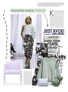 """""""Trend Report: New York Fashion Week"""" by lacas ❤ liked on Polyvore featuring Zadig & Voltaire, H&M, Laurèl and NYFW"""