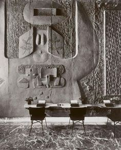 Constantino Nivola | Olivetti |New York | 1953-54