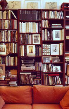 Francois Jonquet. #books #book shelves