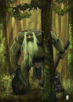 Forest Troll by Netheriel.deviantart.com on @DeviantArt