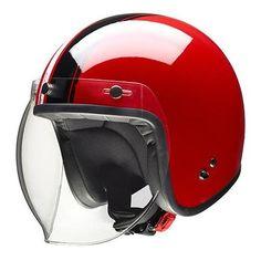 Givi 20.7 Oldster Riding Gear, Motorcycle Helmets, Vespa, Motorbikes, Vehicles, Vintage, Autos, Red, Kleding