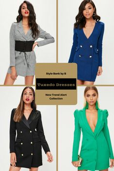 Tuxedo dresses are in! 😍❤️ So check out our favourites from the Tuxedo Dresses collection here - http://www.stylebankbyb.com/fashion/trend-alert-tuxedo-dresses
