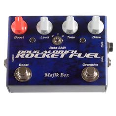 Majik Box RF-LTD Doug Aldrich Rocket Fuel Limited 5th Anniversary Edition Pedal