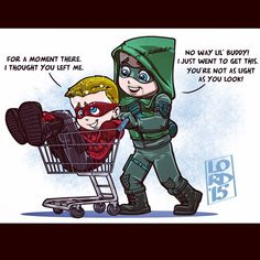 So this is what happens when Oliver leaves unconscious Roy after dramatic fights.