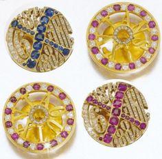 Faberge cuff links
