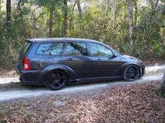 Ford Focus Tuning Combi mk1 all black