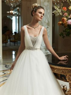 Casa Blanca Bridal Fall 2012 Collection + My Dress Of The Week - Belle the Magazine . The Wedding Blog For The Sophisticated Bride
