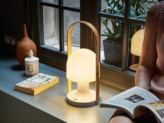 Buy the Marset FollowMe Plus Portable Table Lamp at Nest.co.uk