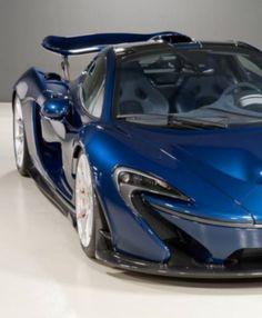 Genesis Blue McLaren P1