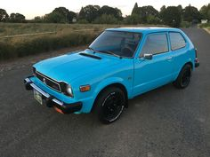 Car Brand Auctioned Honda Civic Hatchback 1978 Model Cvcc Hondamatic Vintage Collectible Old Like 1977 1976 1979 Auction