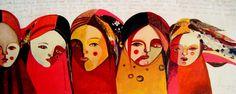 Vanina Margaría pinturas  Dios me hizo mujer