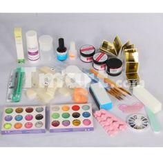 Professional UV Gel Nail Art Kit Set,$49.66