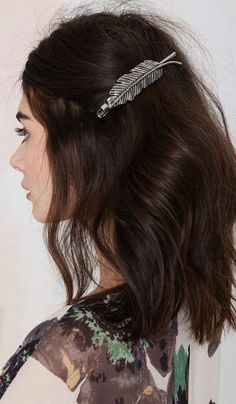 Leaf It Hair Clip//