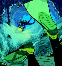 Two divers enter a cave and only one comes out. Whose fault was it?  Safety first.