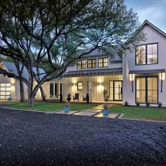Modern Farmhouse just outside of downtown Austin, TX for a family of four and their dog Hank.